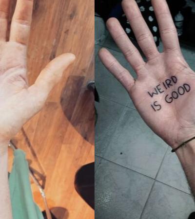 15 ideias de tatuagem na palma da mão para sair do clichê