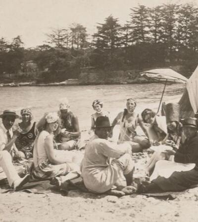 As loucas 'beach parties' dos anos 20 com convidados ilustres como Picasso e Hemingway