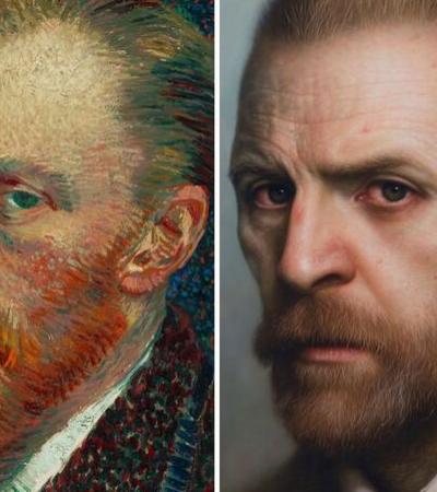 Artista dá vida nova a bustos, pinturas antigas e fotos transformando-os em retratos hiperrealistas