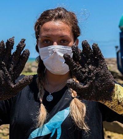 Óleo no Nordeste: saiba como você pode ajudar na limpeza das praias