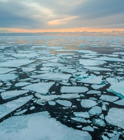 Mapa interativo mostra o assustador desaparecimento do gelo do Ártico