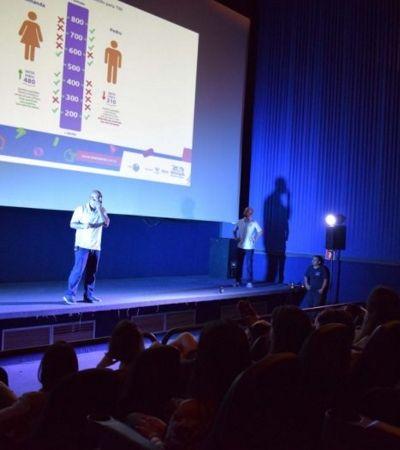 Escola promove aulão gratuito para o Enem em salas de cinema