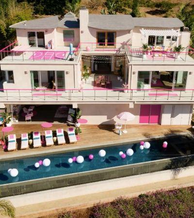 A casa da Barbie existe na vida real – e você pode se hospedar lá