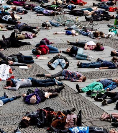 Extinction Rebellion: os ativistas 'sangue nozóio' dispostos a parar a Europa para combater mudanças climáticas