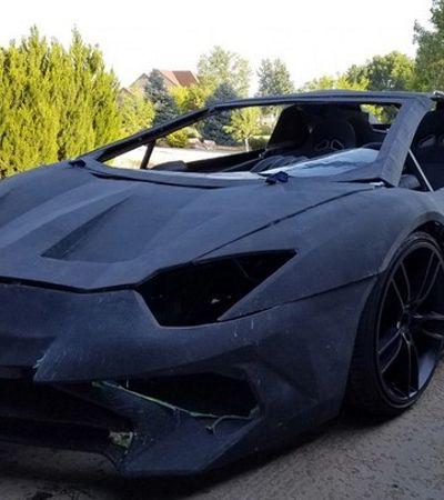 Pai e filho se unem e criam Lamborghini em impressora 3D