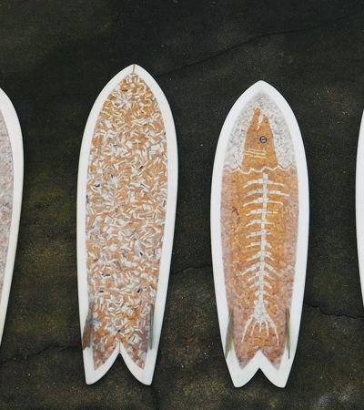 Lar Mar vai transformar bitucas de cigarro recolhidas em SP em pranchas de surf