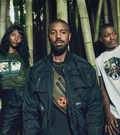Michael B Jordan lança linha de roupas inspiradas em Naruto; confira