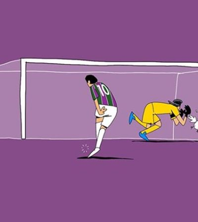 Inspirado em Frank Zappa, Milton Trajano retrata poesia minimalista do futebol