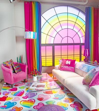 Criaram um quarto de hotel que é o sonho de toda criança dos anos 1990