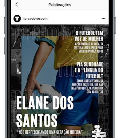 'Torcedores' lança a primeira revista esportiva feminina criada para Instagram