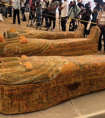 Múmias de 3 mil anos são encontradas em 30 sarcófagos bem preservados no Egito