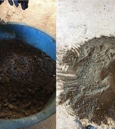 Universidade da Bahia transforma óleo recolhido em praias do Nordeste em carvão