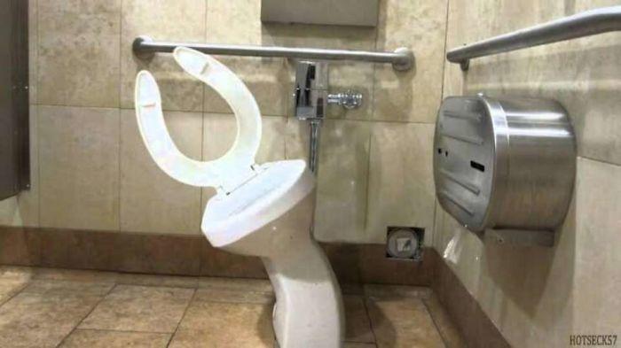 banheiros bizarros facebook 16