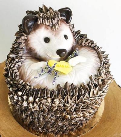 Arte comestível: canadense transforma bolos em universos incríveis