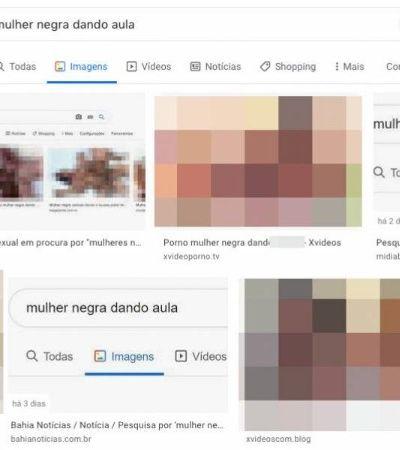 Por que busca 'mulher negra dando aula' no Google leva à pornografia