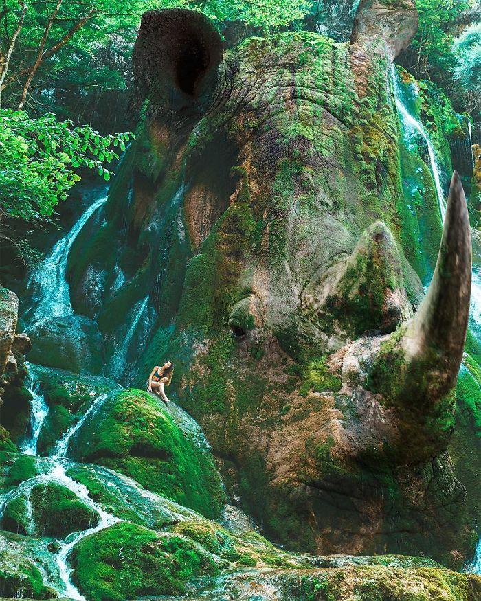 cenas surreais animais e natureza 1