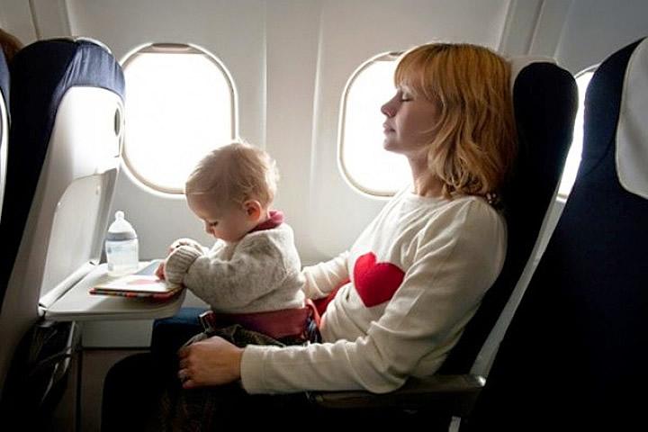 companhia aérea longe de bebês 4