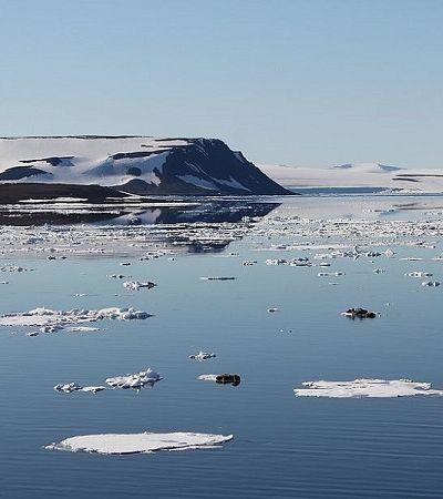 Derretimento do gelo revela 5 novas ilhas no Ártico russo