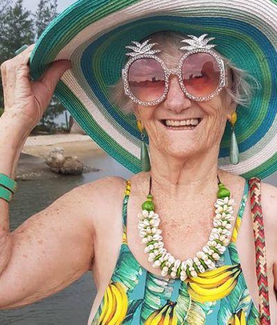 Conheça Izaura Demari, a brasileira que virou ícone fashion aos 78 anos
