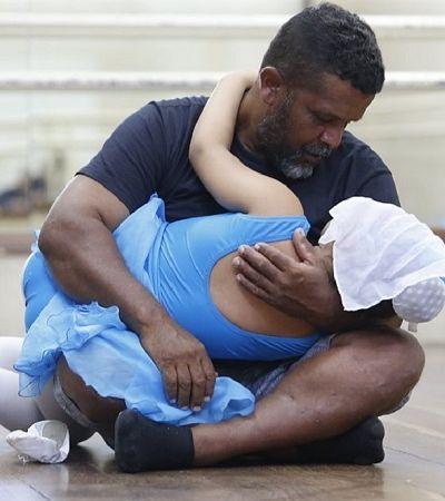 Pedreiro vence preconceito e aprende balé para apoiar filhas autistas
