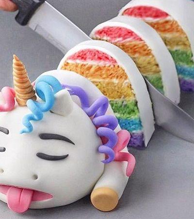 Jovem de 18 anos faz bolos e tortas veganos que são verdadeiras obras de arte