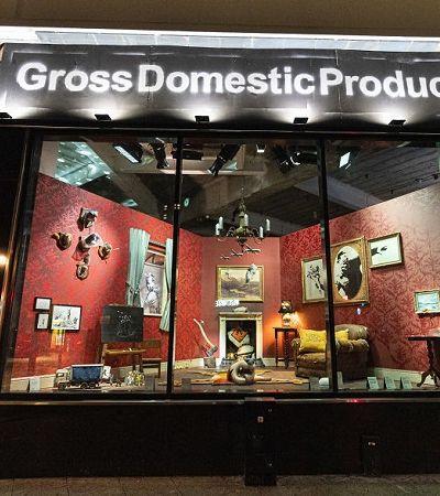 A loja distópica onde ninguém pode entrar criada por Banksy após disputa de marca registrada
