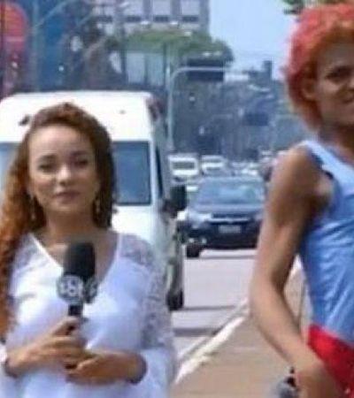 Protagonista de vídeo elogiado por RuPaul, mulher em situação de rua ganha 'dia de princesa'