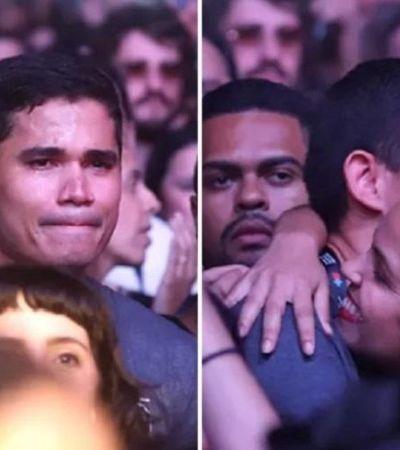 Marido de Lulu Santos fala sobre choro no 'Rock in Rio' e emociona