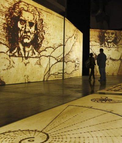 Mostra imersiva de Leonardo Da Vinci abre as portas do MIS Experience em SP