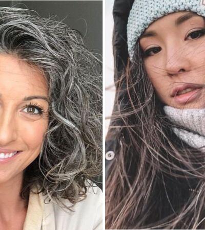 Respeite meus cabelos brancos: 30 mulheres que abandonaram a tinta e vão te inspirar a fazer o mesmo