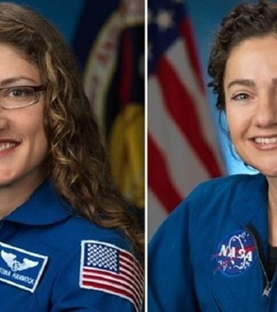 NASA anuncia 1ª missão espacial 100% feminina que acontece neste mês