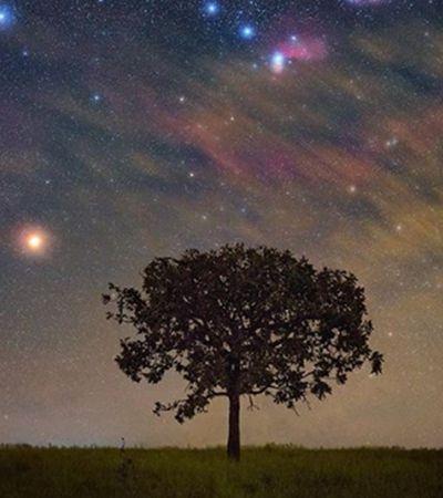 Fotografia tirada por brasileiro é eleita 'imagem do dia' pela NASA