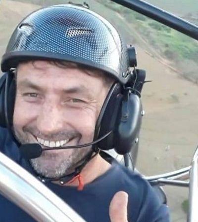 Instrutor de paramotor espalha sementes durante voos para reflorestar sua região em SP