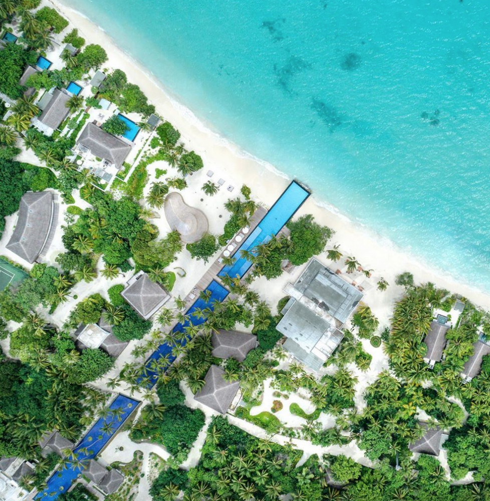 piscina atravessa ilha maldivas 2