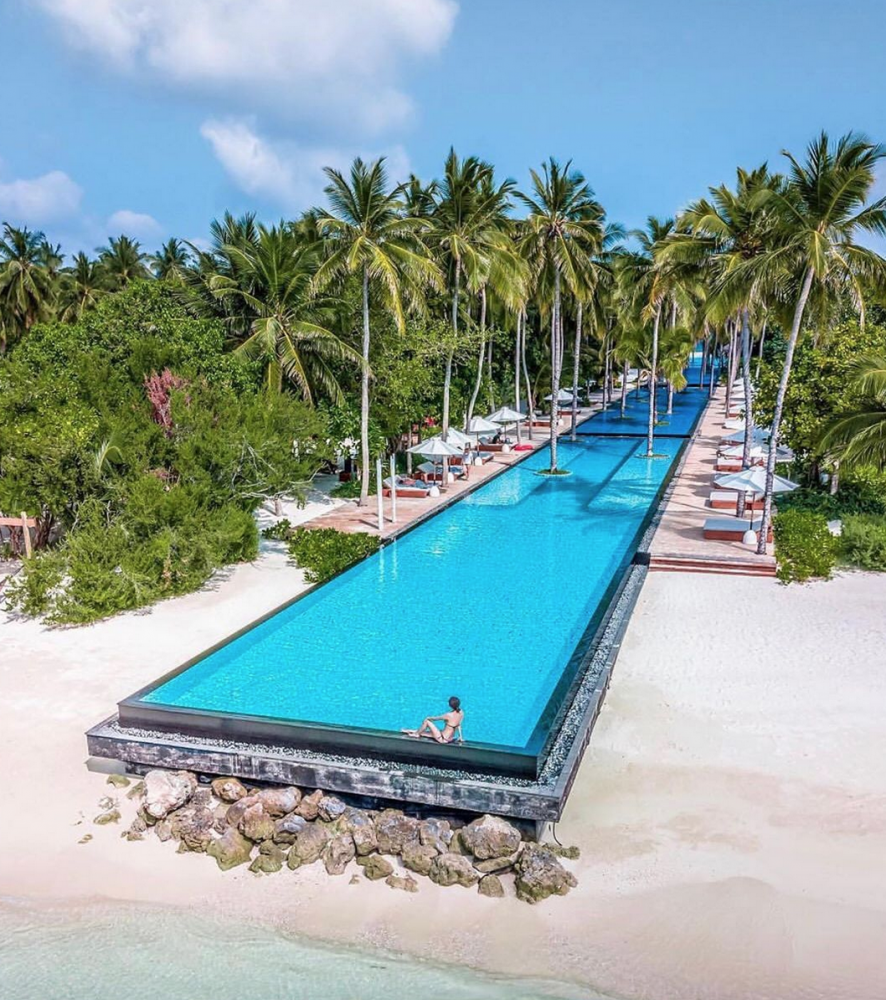 piscina atravessa ilha maldivas 5