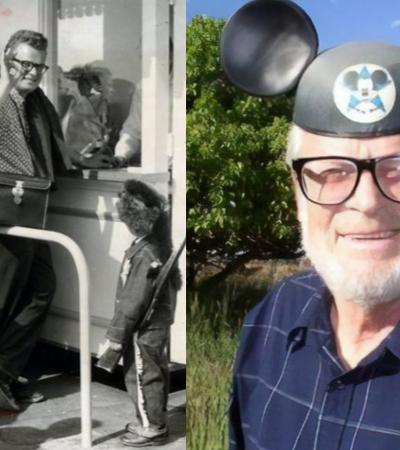 Primeiro cliente da Disney usa seu bilhete vitalício todos os anos desde 1955