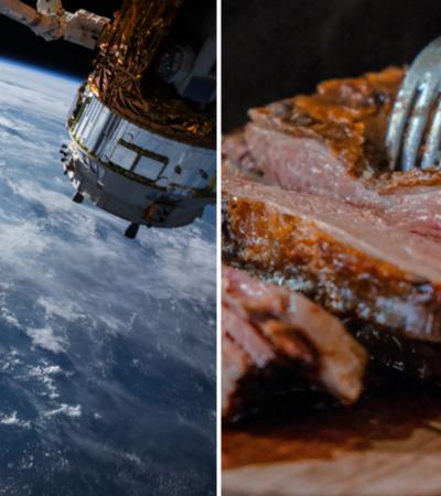 Cientistas criam primeiro laboratório para produzir carne no espaço
