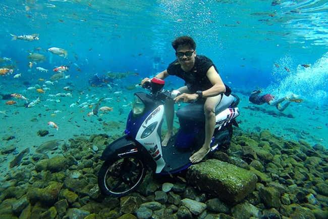 selfies subaquáticas indonésia 1