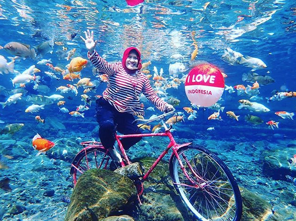 selfies subaquáticas indonésia 5
