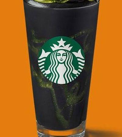 Starbucks lança bebida gótica para o Halloween. Entenda a composição dessa gostosura