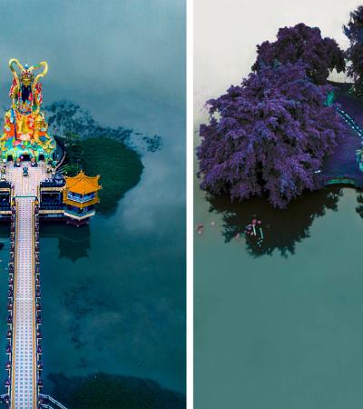 Fotógrafa viaja pela Ásia registrando os templos mais incríveis que conhece