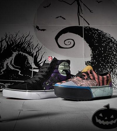 Vans lança coleção dedicada a 'O Estranho Mundo de Jack', de Tim Burton