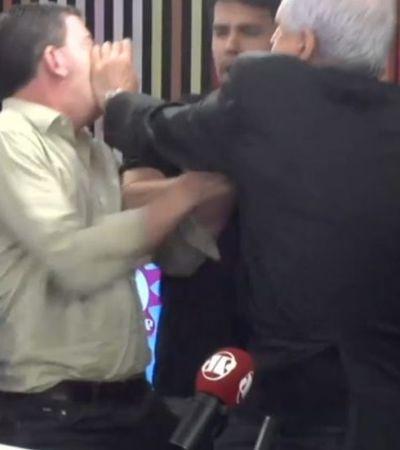 Emílio Surita faz piada machista com Greenwald após briga com Nunes e é detonado nas redes