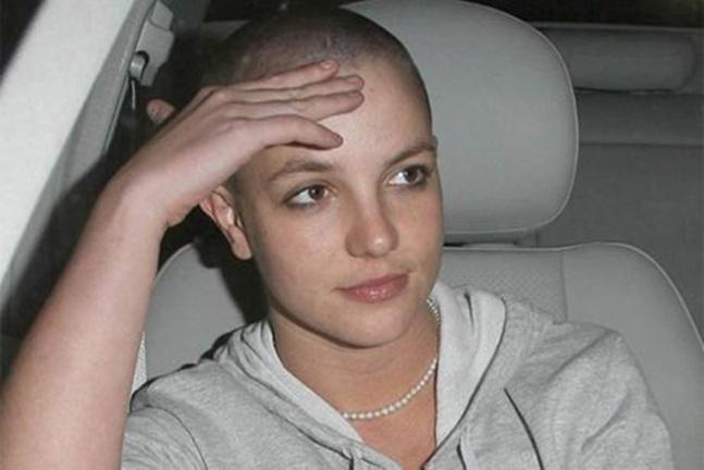 Britney Spears em 2007