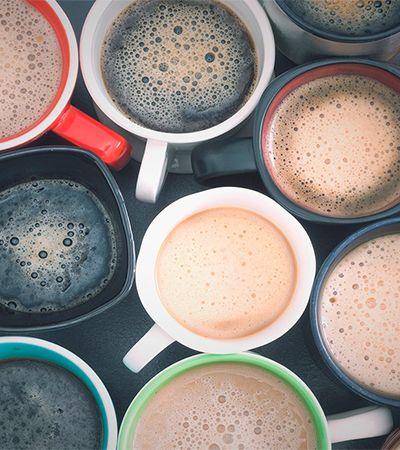 Ele bebeu 12 xícaras de café em 5 minutos e garante que passou a sentir o cheiro das cores