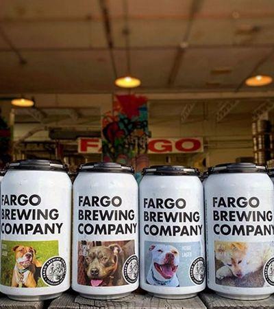 Marca de cerveja coloca fotos de cães sem lar nas latas para que sejam adotados