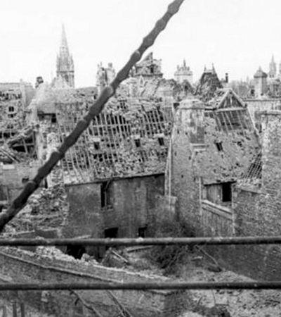 Antes e depois mostra como Europa mudou da Segunda Guerra para os dias atuais