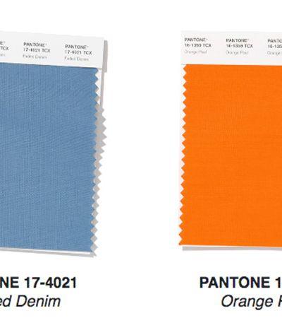 12 tendências de cor previstas pela Pantone para a moda primavera/verão 2020
