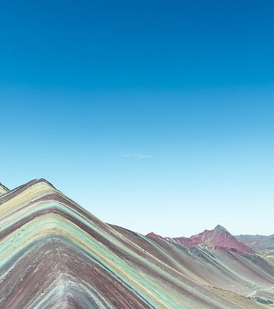 A beleza multicolorida do Vale Vermelho, no Peru, registrada em fotos