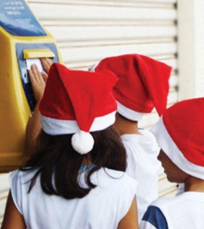 Adote e faça a alegria de uma criança na campanha 'Papai Noel dos Correios'